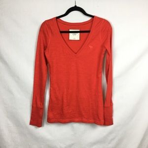 Abercrombie and Fitch Red Size S